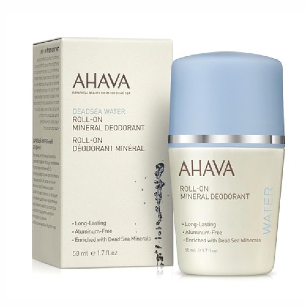 Минеральный шариковый дезодорант Ahava для женщин 50 мл