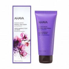Минеральный крем для рук Ahava Deadsea Water Весенний цветок 100 мл