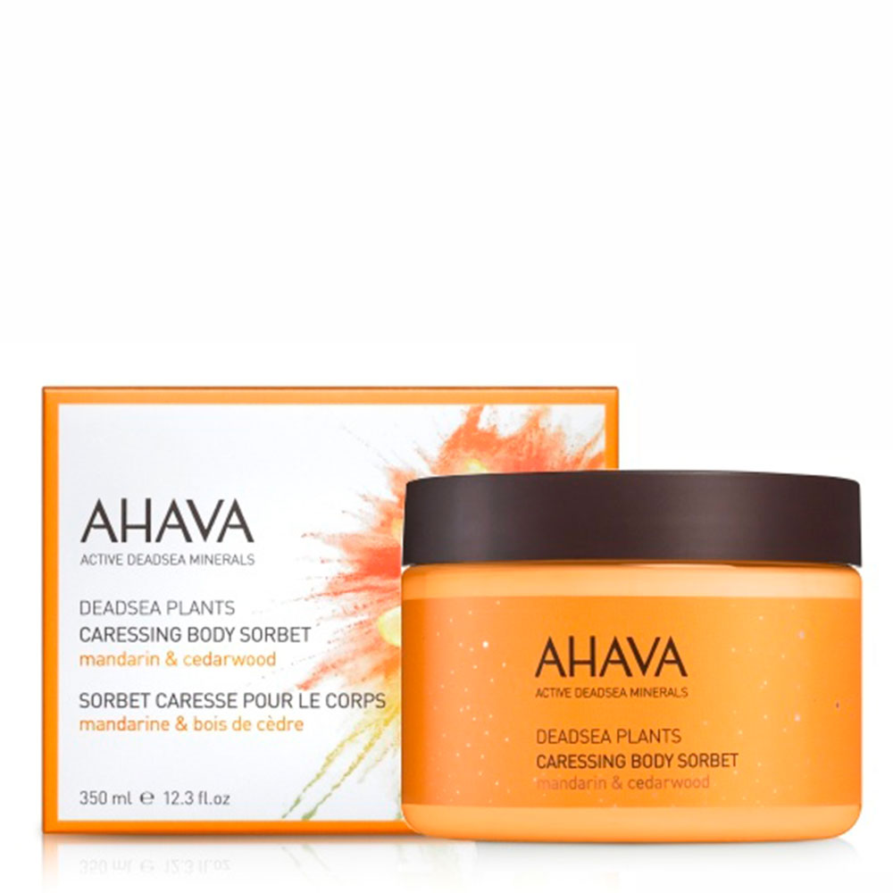 Нежный крем для тела мандарин и кедра Ahava Deadsea Plants