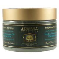 Лечебная грязевая маска для волос с аргановым маслом Aroma DS 600 мл