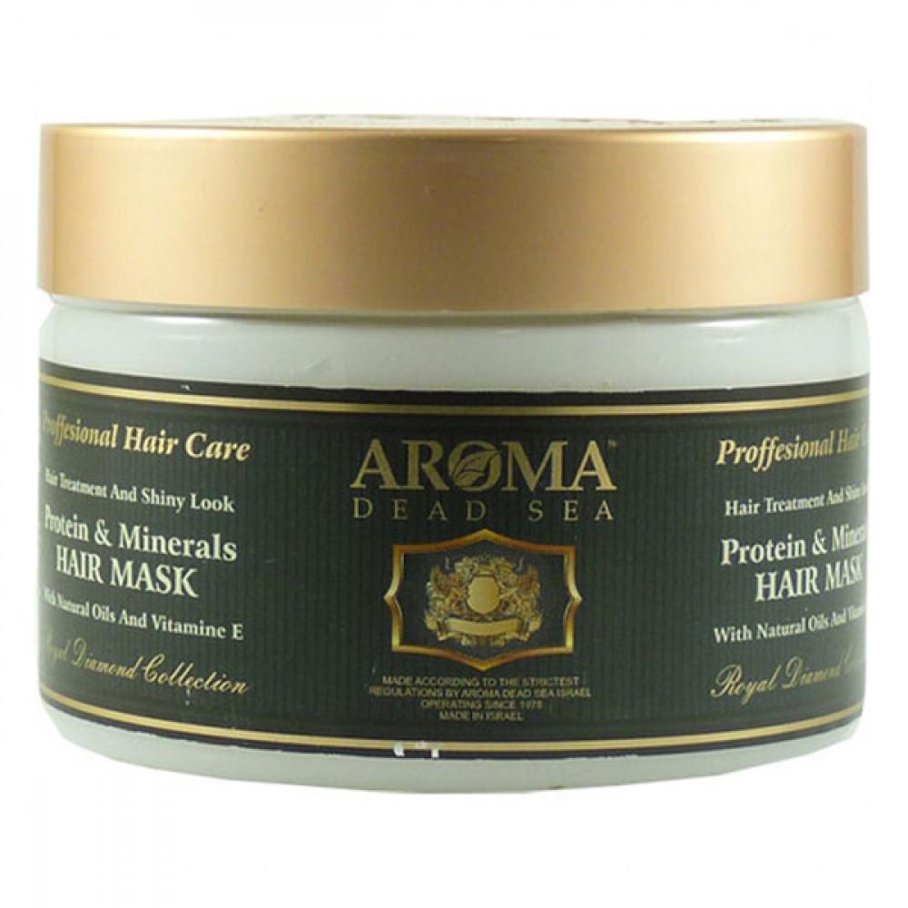 Минеральная маска для волос с витамином Е и протеином Aroma DS 600 мл