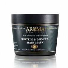 Минеральная маска для волос с витамином Е и протеином Aroma DS 500 мл