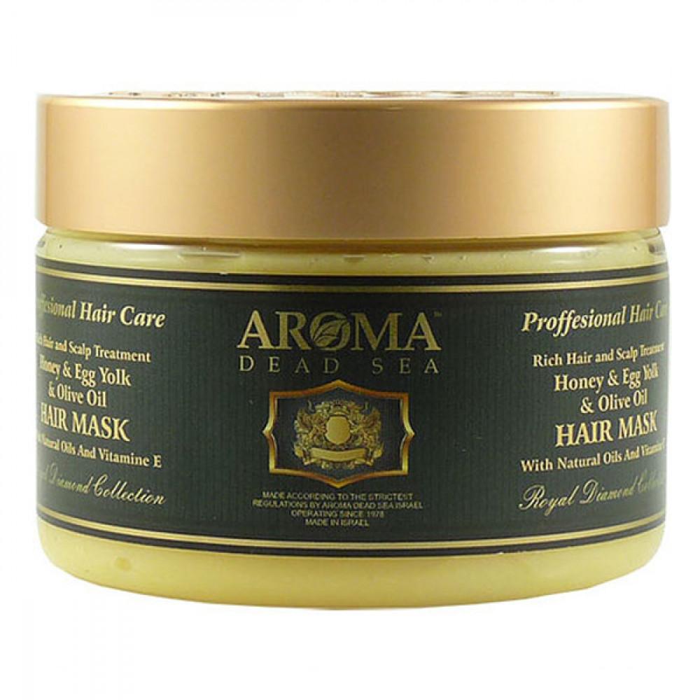 Маска для волос с медом, оливковым маслом и яичным желтком Aroma DS 600 мл