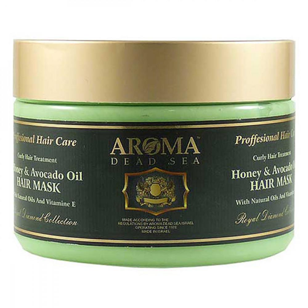 Маска для волос с медом и маслом авокадо Aroma DS 600 мл
