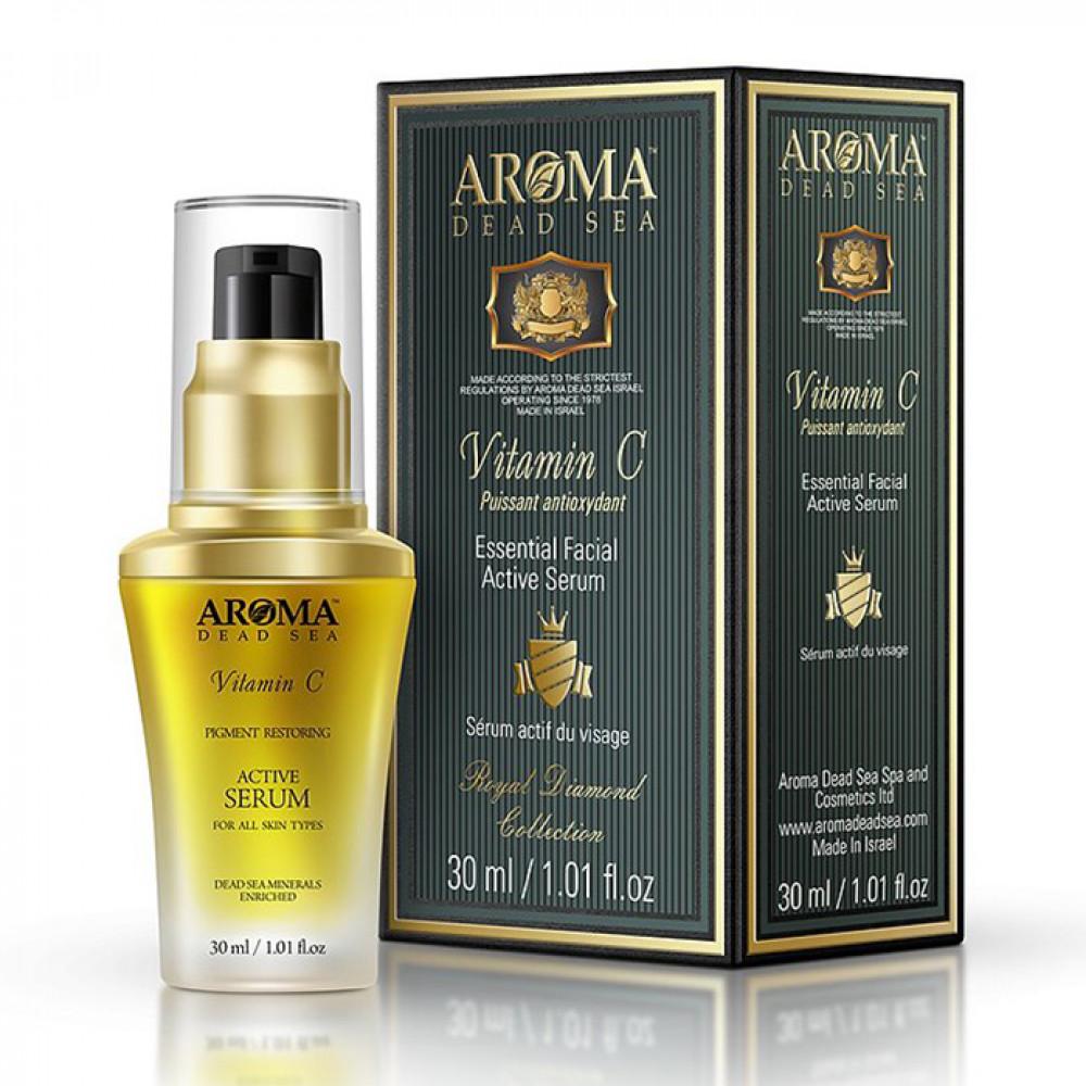 Антивозрастная сыворотка для лица и шеи Aroma DS 30 мл