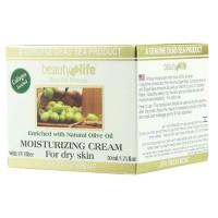 Дневной увлажняющий крем для сухой кожи с оливковым маслом Beauty Life 50 мл
