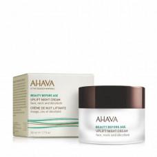 Ночной крем Ahava для подтяжки кожи лица, шеи и зоны декольте 50 мл Beauty Before Age
