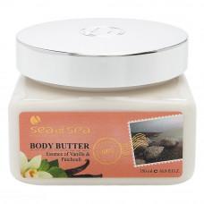 Сливки для тела ваниль и пачули от Sea of Spa