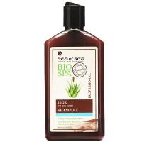 Шампунь для жирных и тонких волос с целебной грязью и экстрактом Алое Вера Bio Spa