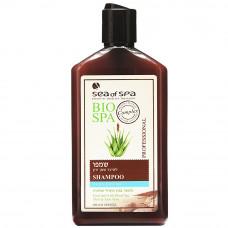 Шампунь для жирных и тонких волос с целебной грязью и экстрактом Алое Вера Bio Spa от Sea of Spa