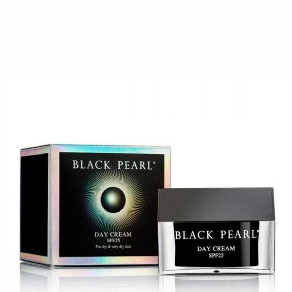 Крем дневной антивозрастной  для сухой и очень сухой кожи SPF 25 Black Pearl от Sea of Spa