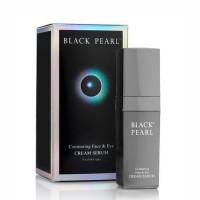 Крем Серум контурный для кожи лица и вокруг глаз Black Pearl