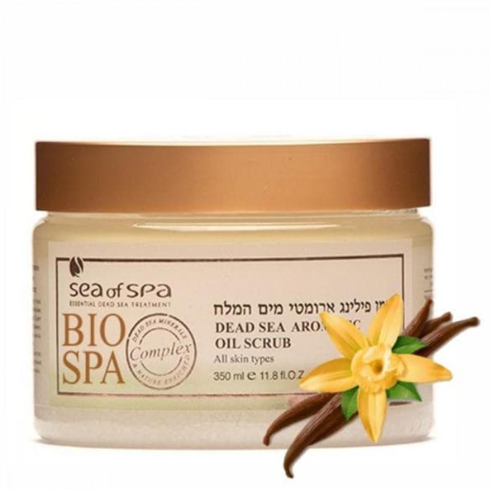 Масло-скраб для тела Bio Spa ваниль от Sea of Spa