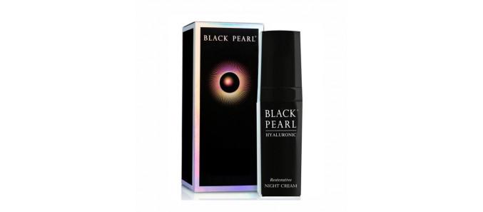 Омолаживающий ночной крем с гиалуроновой кислотой Black Pearl от Sea of Spa
