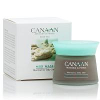 Грязевая маска для нормальной и жирной кожи лица Canaan 50 ml