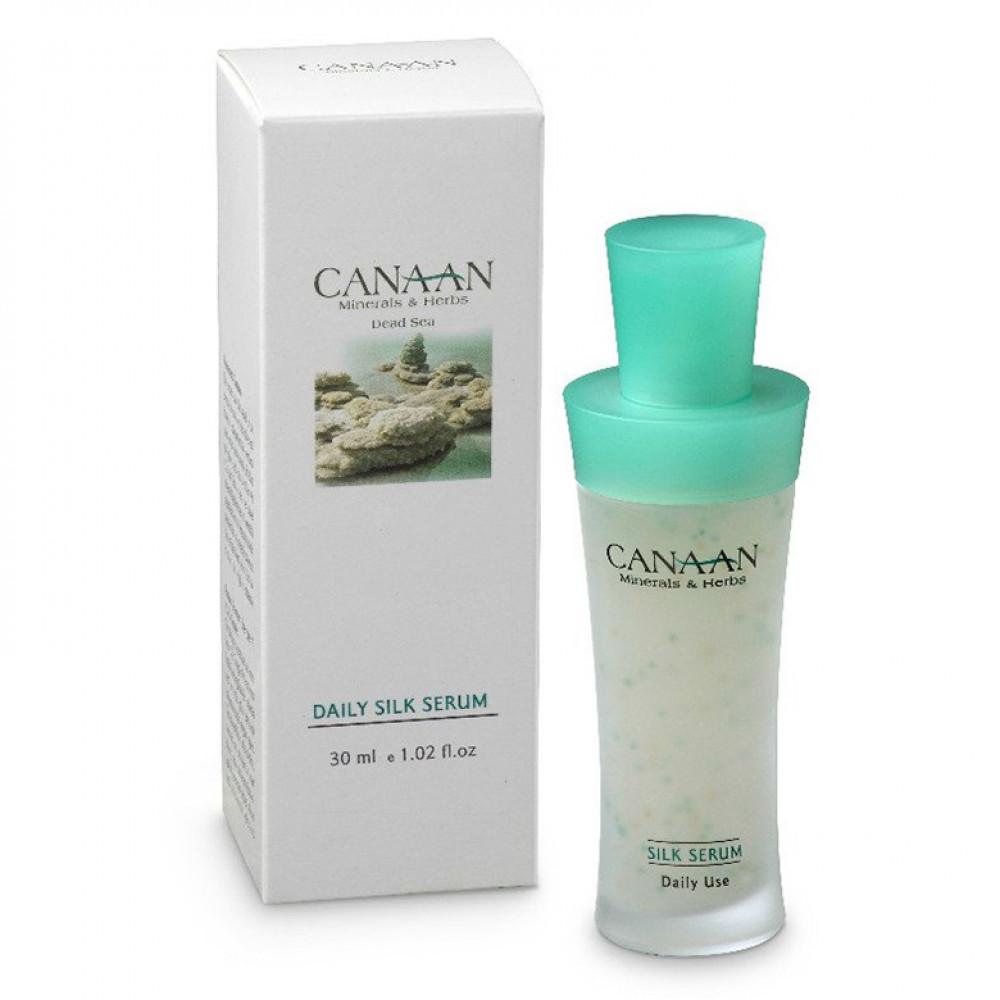 Ежедневная шелковая сыворотка для лица Canaan 30 ml