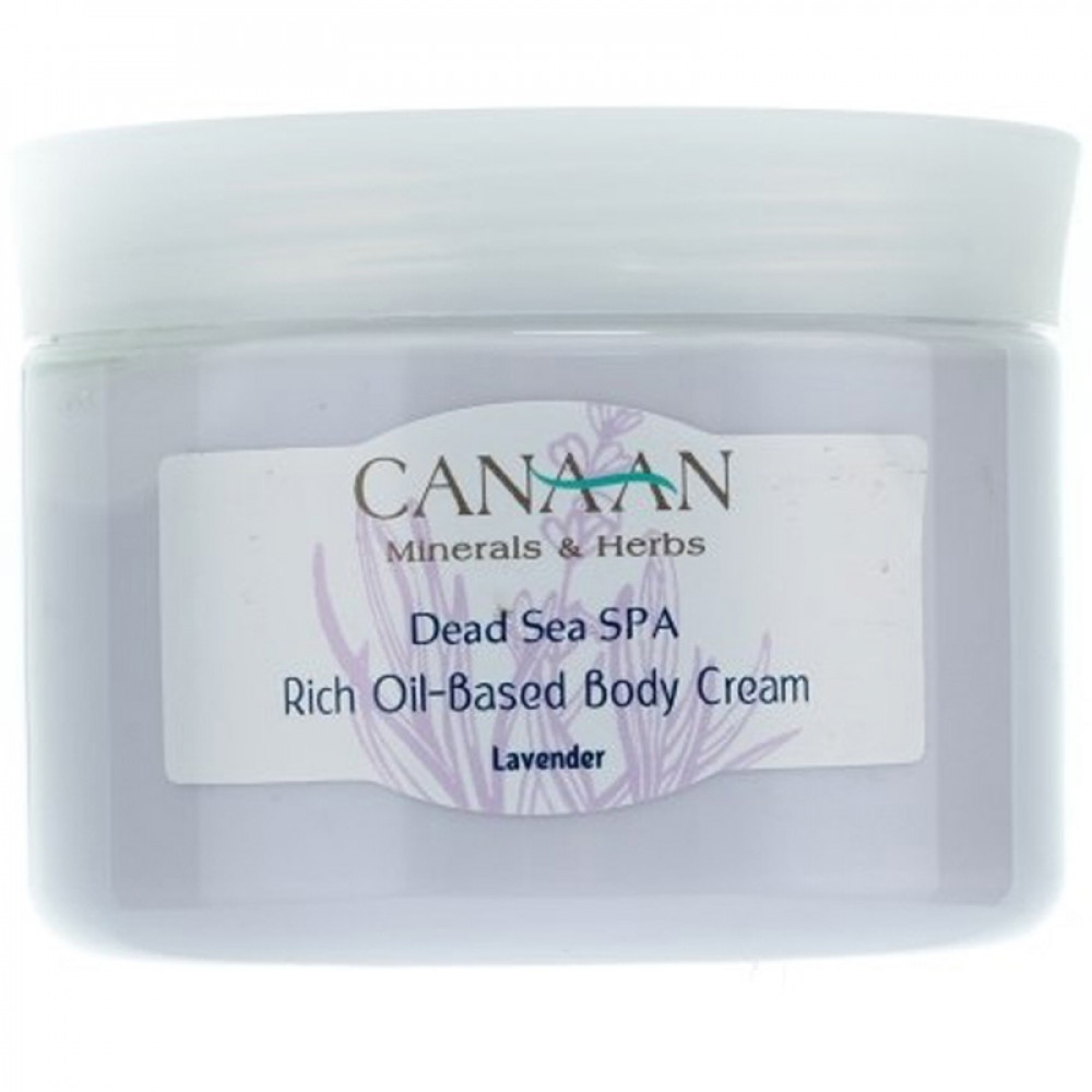 "Крем для тела ""Лаванда"" на масляной основе Canaan 300 ml"