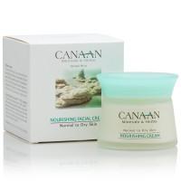 Питательный крем для лица для нормальной и сухой кожи Canaan 50 ml