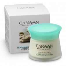 Питательный крем для лица для нормальной и жирной кожи Canaan 50 ml