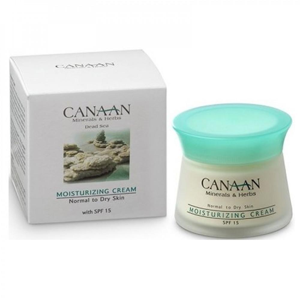 Увлажняющий крем для нормальной и сухой кожи SPF15 Canaan 50 ml