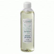 """Насыщенное массажное масло """"Ваниль"""" Canaan 250 ml"""