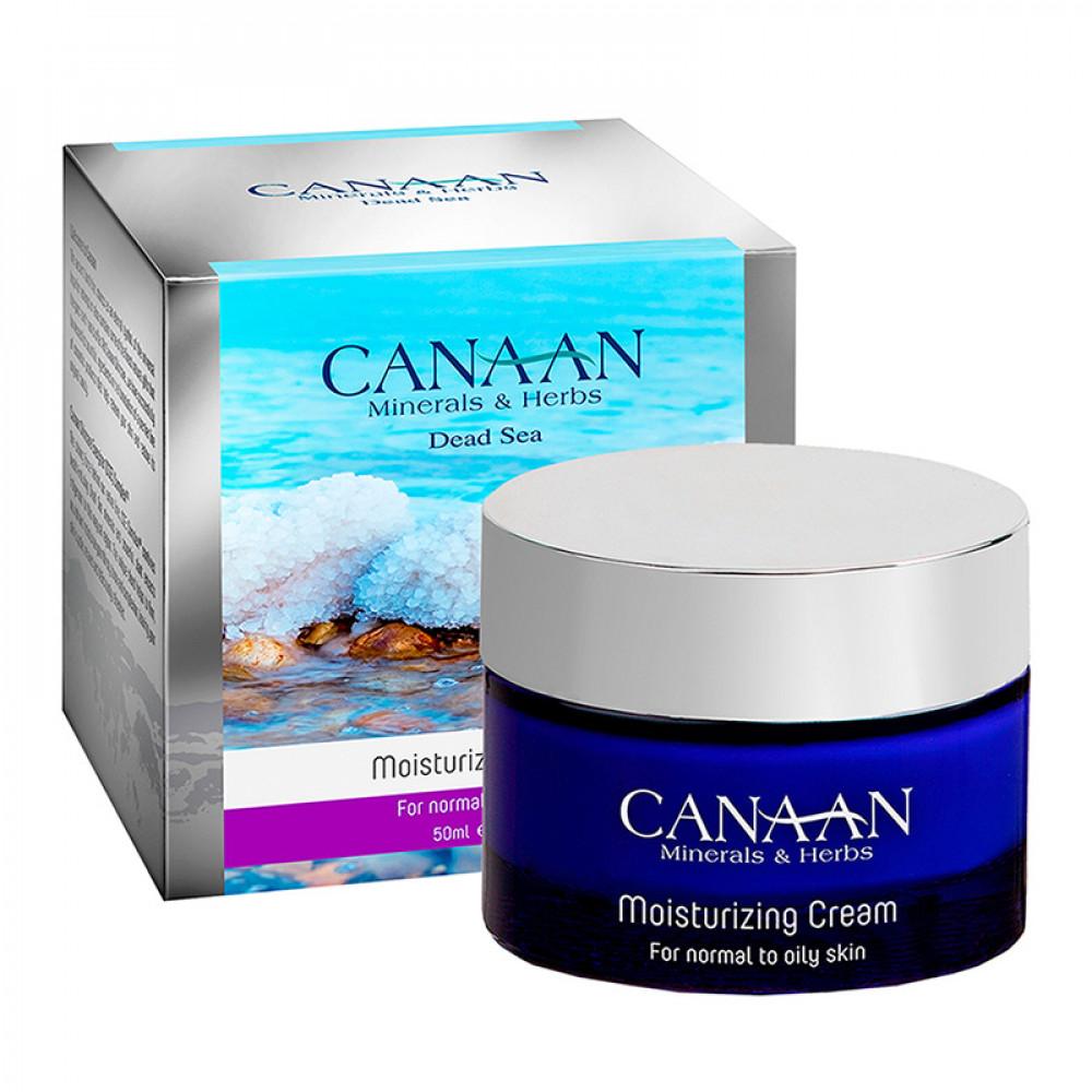 Увлажняющий крем для лица для нормальной и жирной кожи Canaan Silver 50 ml