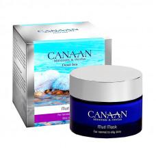 Грязевая маска для нормальной и жирной кожи лица Canaan Silver 50 ml