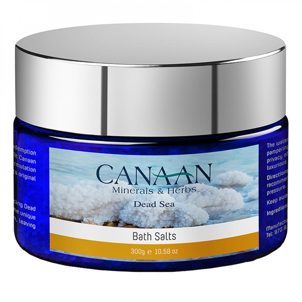Ароматическая соль для ванн Canaan Silver 300 гр