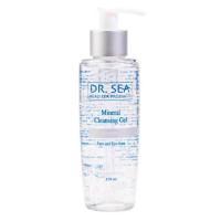 Очищающий минеральный гель для лица и глаз с витамином Е Dr.Sea