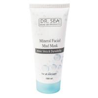 Минеральная грязевая маска для лица с алоэ вера и дуналиеллой Dr.Sea