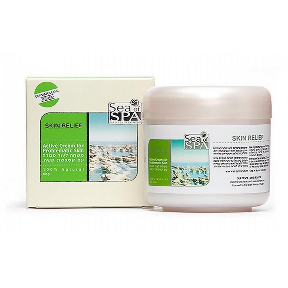 Крем для раздраженной и шелушащейся кожи Skin Relief от Sea of Spa