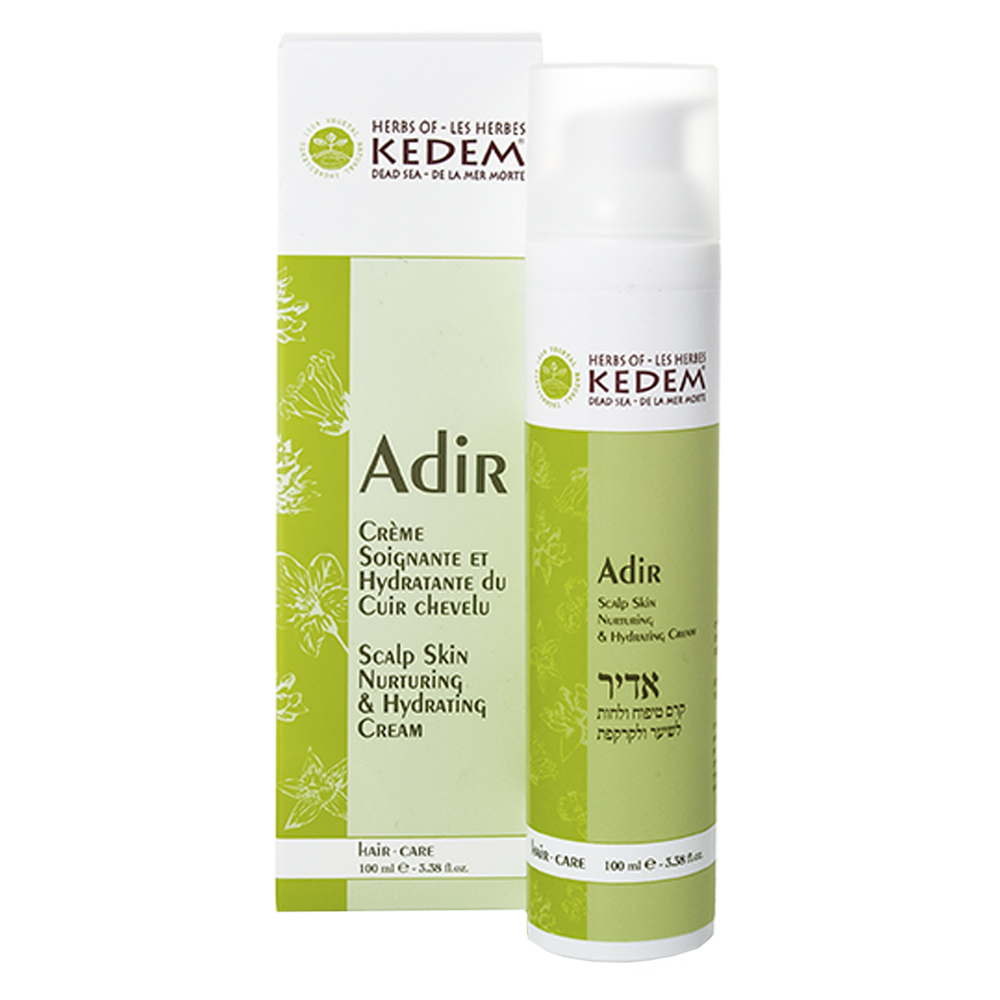 Питательный крем для кожи головы и волос Kedem Adir