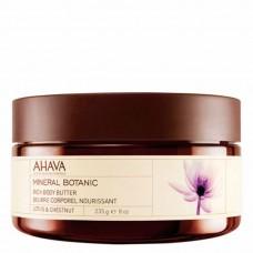 Крем-масло для тела лотос сладкий каштан питательное Ahava