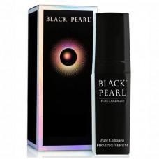 Укрепляющая сыворотка Black Pearl для лица с высокой концентрацией коллагена 30мл
