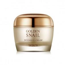 Омолаживающий крем Skin79 для лица с экстрактом улитки и золотом 50 мл