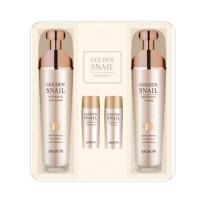 Подарочный набор для лица Skin79 с экстрактом улитки и золотом (4 средства)