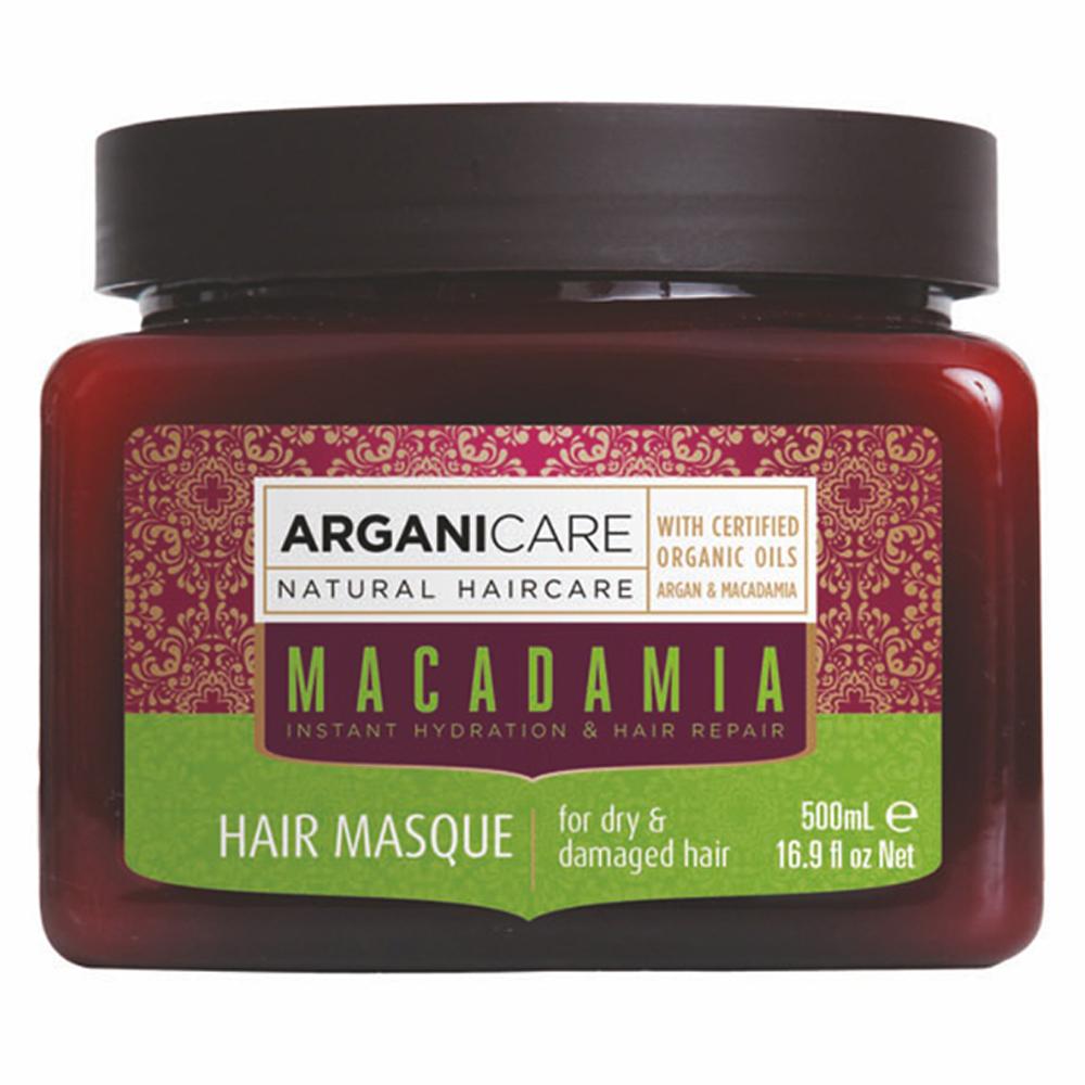 Маска для волос с маслом Макадамии Arganicare