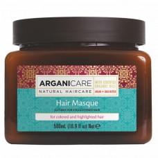 Маска для окрашенных и обесцвеченных волос Arganicare