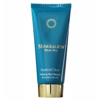 Очищающая грязевая маска для нормальной и жирной кожи Mineralium