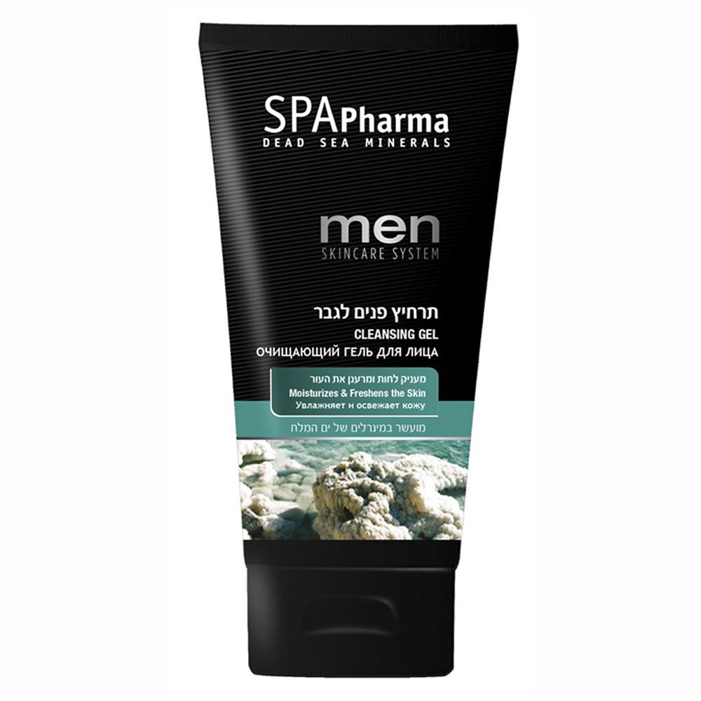 Oчищающий гель для мужчин д/всех типов кожи Spa Pharma