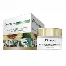 Антивозрастной крем SPF15 с маслом Авокадо для всех типов кожи Spa Pharma