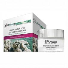 Коллагеновый крем для укрепления кожи для всех типов зрелой кожи Spa Pharma